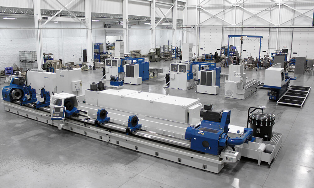 Boring Building Material : Deep hole drilling machines precision bta and