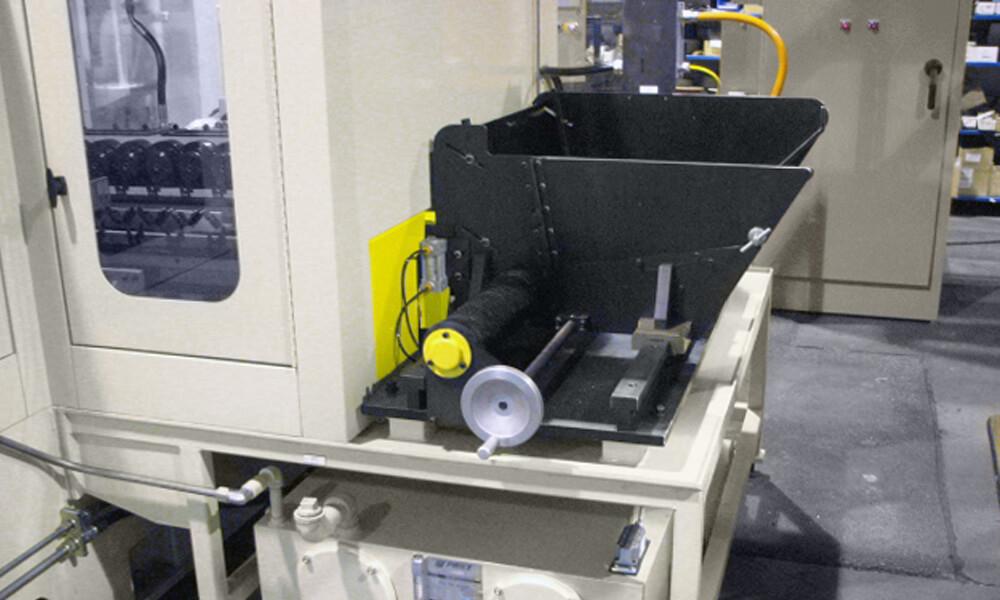 automated bulk feeder for gundrilling