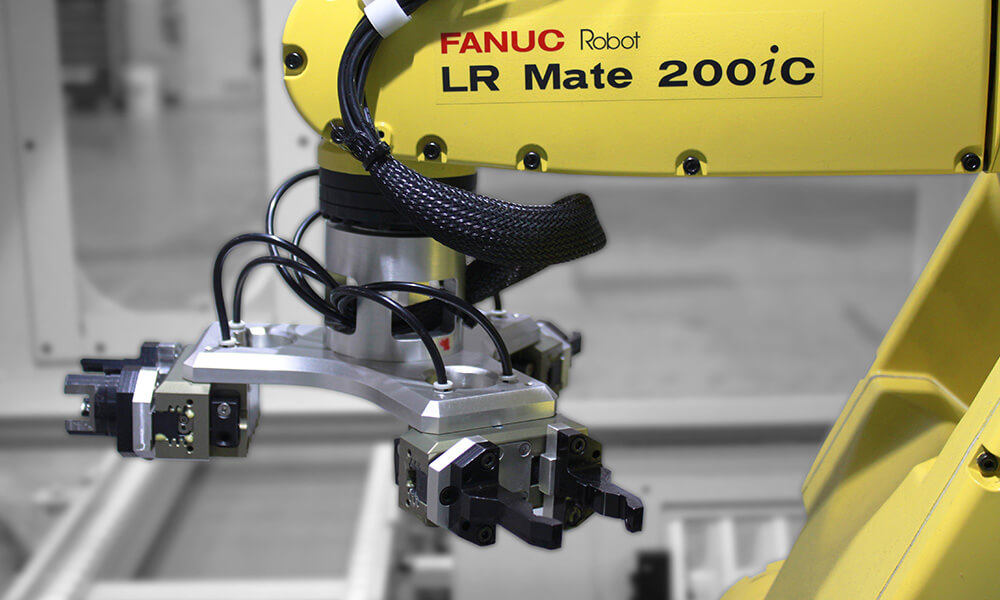 flexible automation for drilling machine