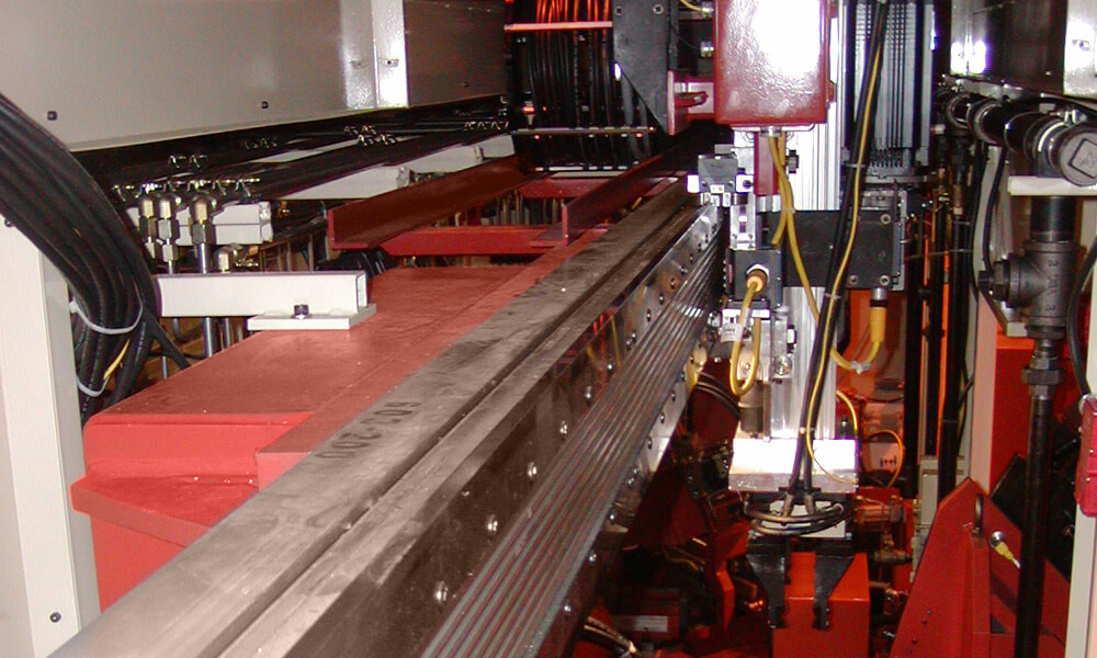 gantry automation for drilling machine