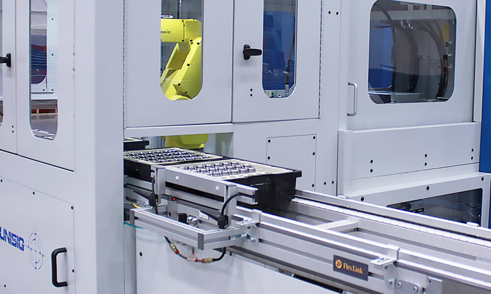 conveyor automation for drilling machine