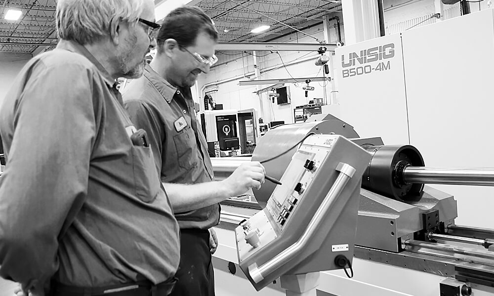machine support and training