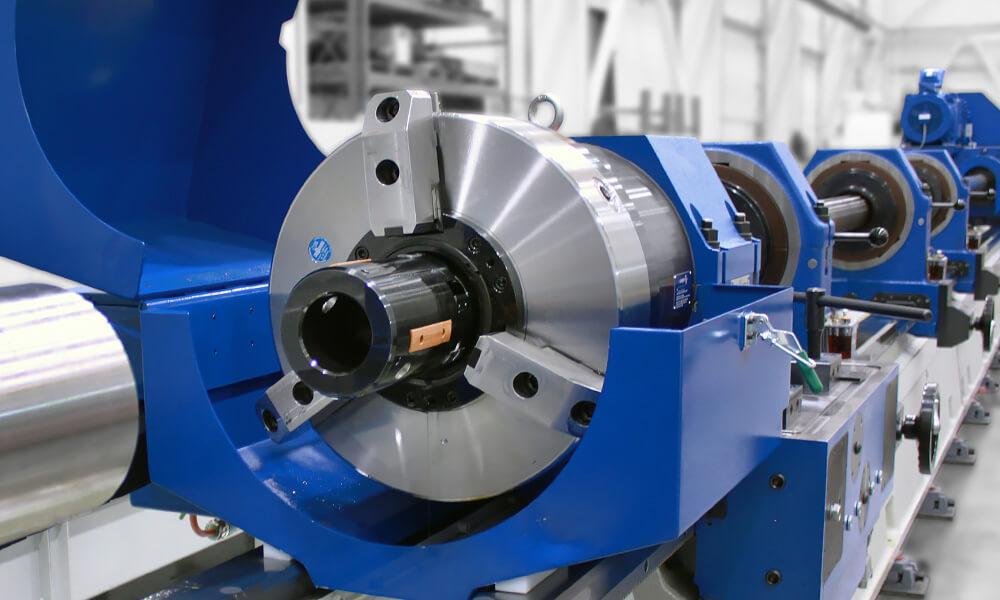 pull boring tool in machine