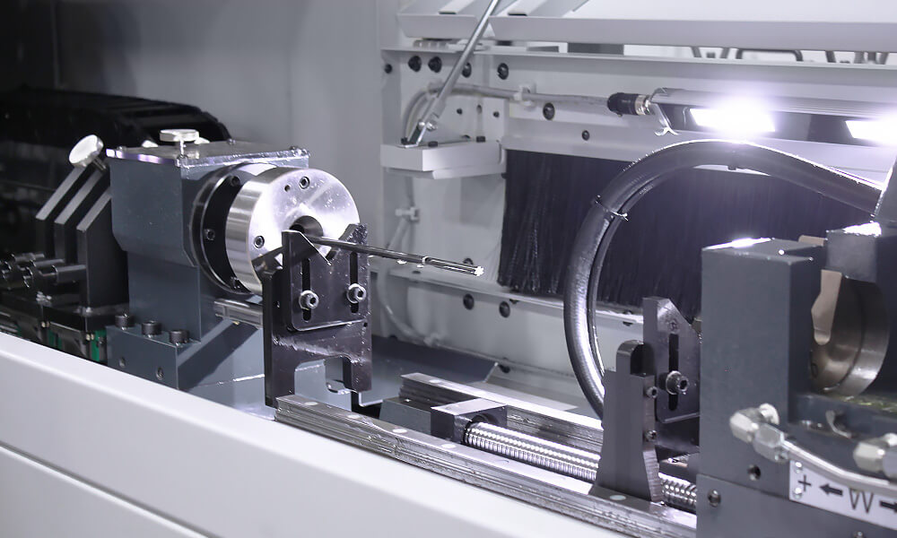 reaming tool in machine