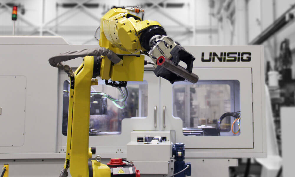 robotic automation for drilling machine