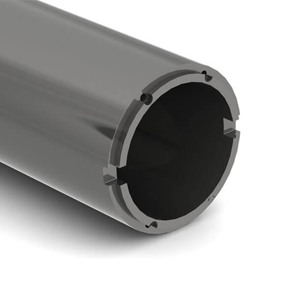 BTA drill tube connection
