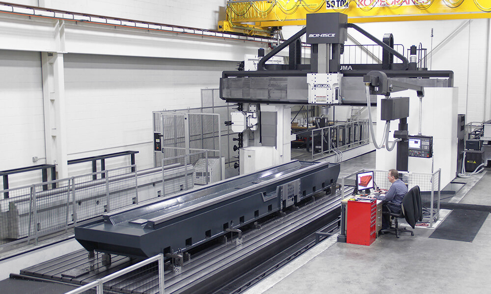 Double Column Machining Center Expands UNISIG Capabilities