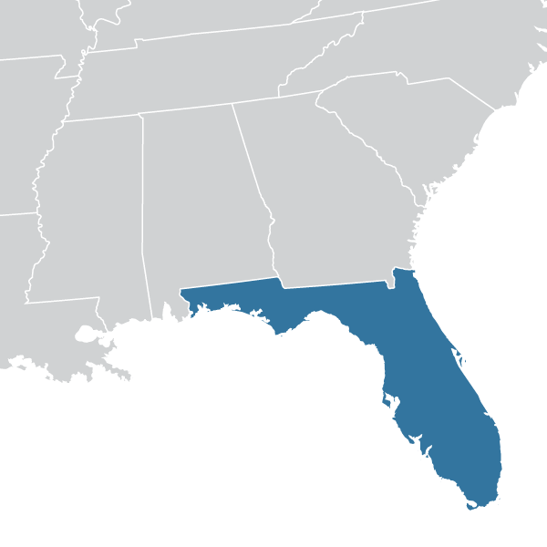 Deep Hole Drilling Florida Map