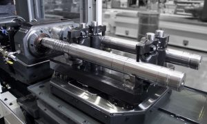 Off-center automated drilling machine