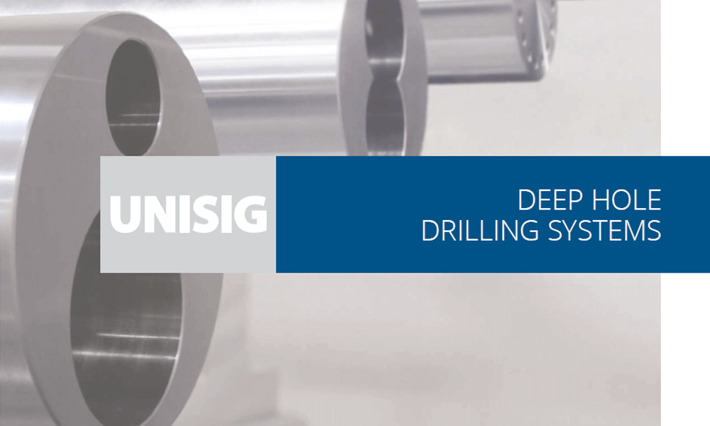 Deep Hole Drilling Overview Catalog